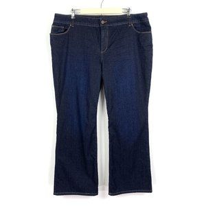 Chicos Platinum Denim Ultimate Fit Bootcut Jeans